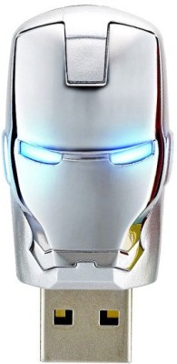 Quace Iron Man 8 GB  Pen Drive (Silver)