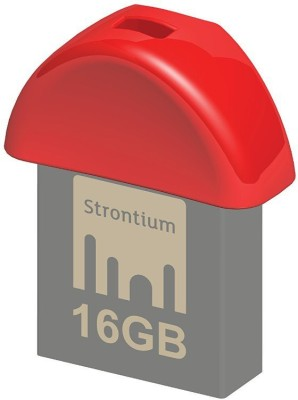 Strontium Nitro Plus Nano 32 GB  Pen Drive (Red)