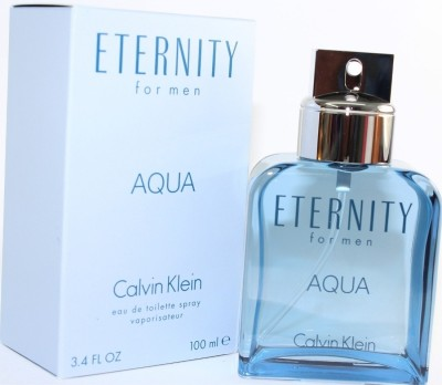 Calvin Klein Eternity Aqua Eau De Toilette  -  100 Ml - For Men