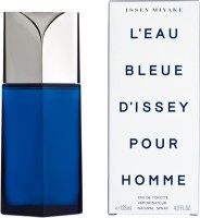 Issey Miyake L'Eau Bleue D'Issey Pour Homme EDT  -  125 Ml (For Men)