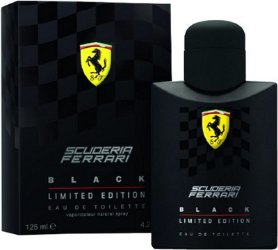 Ferrari Scuderia Black Limited Edition Eau de Toilette - 125 ml