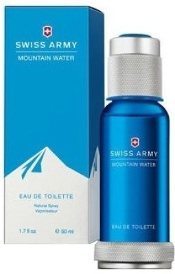 Buy Swiss Army Mountain Water Eau de Toilette  -  50 ml: Perfume