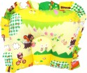 Wonderkids Baby Cotton With Print Yellow Shades Of Print Pillow