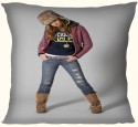 Active Elements Amazing 12 Inch Both Side Printed High-end Cushion For Your Home & Car.Pillow With The Soft Virgin Poly Insert D.No-5810 Newest Of 2014-1 Pillow