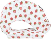 Momtobe Printed Feeding/Nursing Pillow Pack Of1, White