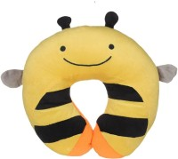 WonderKart Honey Bee Feeding/Nursing Pillow (Pack Of 1, Orange)
