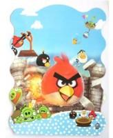 Funcart Angry Bird (Khoi Bag) Pull String Pinata (Multicolor, Pack Of 1)