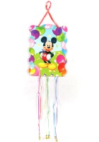 Funcart Mickey Mouse Pull String Pinata (Multicolor, Pack Of 1)