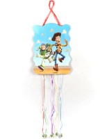 Funcart Toy Story Pull String Pinata (Blue, Pack Of 1)