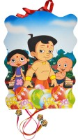 Priyals Party Supplies - Khoi Bag Bheem Family Theme Pull String Pinata (Multicolor, Pack Of 1)