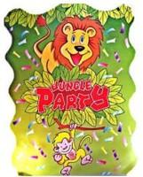 Funcart Jungle (Khoi Bag) Pull String Pinata (Multicolor, Pack Of 1)