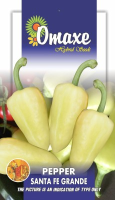 CHILLI PEPPER SANTA FE GRANDE 30 SEEDS PACK BY OMAXE