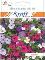 Kraft Seeds Petunia Multiflora Mix