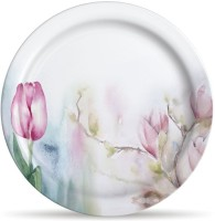Milton Lissome Dinner Tulip Printed Melamine Plate Set (Multicolor, Pack Of 6)
