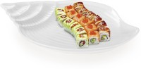 Sivica Porcelain Tray - MOD0461 (White, Pack Of 1) Solid Porcelain Tray (White, Pack Of 1)