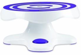 Wilton Tilt N Turn Ultra Cake Turntable Solid Plastic Dish Set