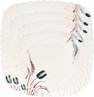 Royal Chef Solid Melamine Plate Set (Multicolor, Pack Of 4)