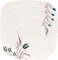 Royal Chef Solid Melamine Plate Set (Multicolor, Pack Of 4)