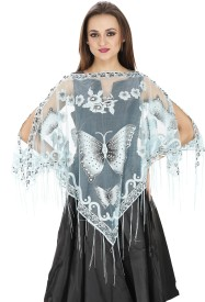 SVT ADA COLLECTIONS Polyester net fabrics Poncho