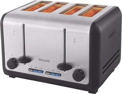 Philips HD2647/20 1800 W Pop Up Toaster (Silver and black)