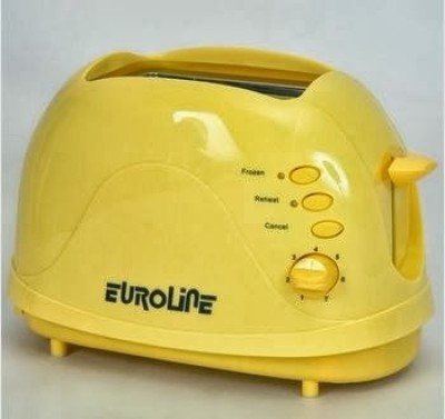 Euroline 2 Slice - with Smily 750 W Pop Up Toaster