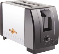 Chefpro Compact Design With Browning Settings 750 W Pop Up Toaster (Black, Steel)