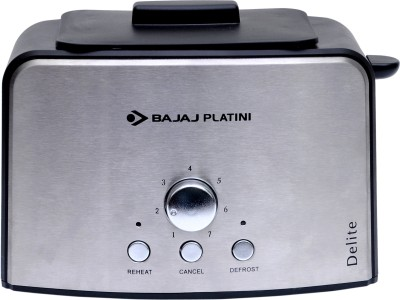 Bajaj Platini Delite 2 Slice Pop Up Toaster