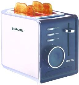 Borosil SS Krispy 2 Slice Pop-up Toaster