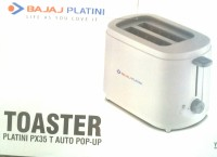 BAJAJ PLATINI PX35 T AUTO POP UP 750 W Pop Up Toaster (White)