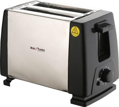 Nikitasha BPT 411 750 W Pop Up Toaster