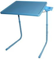 IBS ADJUSTABLE FOLDING KIDS MATE HOME OFFICE READING WRITING STUDY BLUE TABLEMATE WITH CUPHOLDER Plastic Portable Laptop Table (Finish Color - Blue)