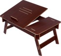 Hubberholme Engineered Wood Portable Laptop Table (Finish Color - Mohagany)