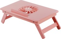 TABLEMATE II Heavy Duty Kids Office Study Reading Adjustable Wooden Pink Bed Mate Engineered Wood Portable Laptop Table (Finish Color - Pink) - PLLEJYUZYYEF7AZ6
