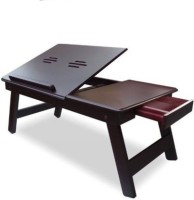 IBS Solid Wood Portable Laptop Table (Finish Color - BROWN)