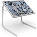 Shopper52 PP Portable Laptop Table (Finish Color - Grey)