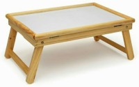 Jigi & Joons Multi-purpose Office & Home Study Or Work Solid Wood Portable Laptop Table (Finish Color - Wooden)