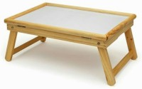 Jigi & Joons Office & Home Multi-purpose Fold-able Solid Wood Portable Laptop Table (Finish Color - Wooden)