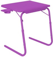 IBS ADJUSTABLE FOLDING KIDS MATE HOME OFFICE READING WRITING PURPLE STUDY TABLEMATE WITH CUPHOLDER Plastic Portable Laptop Table (Finish Color - Purple)