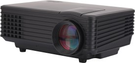 Hybridvision 800 lm LED Corded Portable Projector