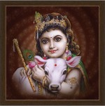 Luxaim Posters Bal Gopal Frame By Returnfavors Canvas Art