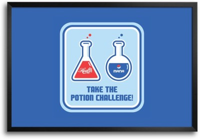 RangeeleInkers Posters RangeeleInkers Take The Potion Challenge Laminated Frame Poster Paper Print