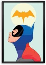 RangeeleInkers Posters RangeeleInkers batgirl Laminated Frame Poster Paper Print