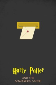 EurekaDesigns Poster Letter Bo - Harry Potter and The Sorcerer's Stone Paper Print Rolled Paper Print