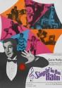 Singin In The Rain - Spanish - 1952 Paper Print - Medium, Rolled