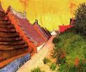 Street In Saintes-Maries Large By Van Gogh Fine Art Print - Large