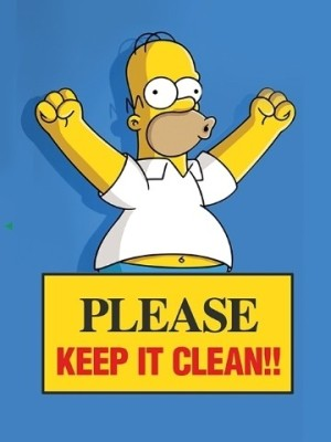 70 Off On Please Keep It Clean 3d Poster On Flipkart