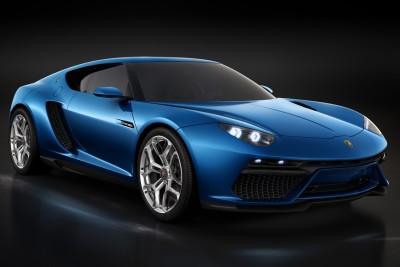 Lamborghini Lamborghini Asterion Blue Poster