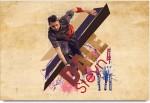 ShopMantra Posters Dale Styen Wicket taker Laminated Poster Paper Print