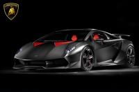 Lamborghini Lamborghini Sesto Elemento Black Poster