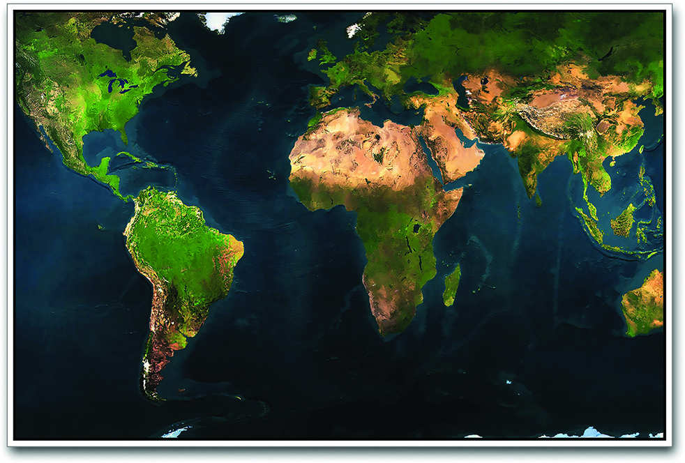 Buy world map physical paper print on flipkart paisawapas world map physical paper print gumiabroncs Image collections